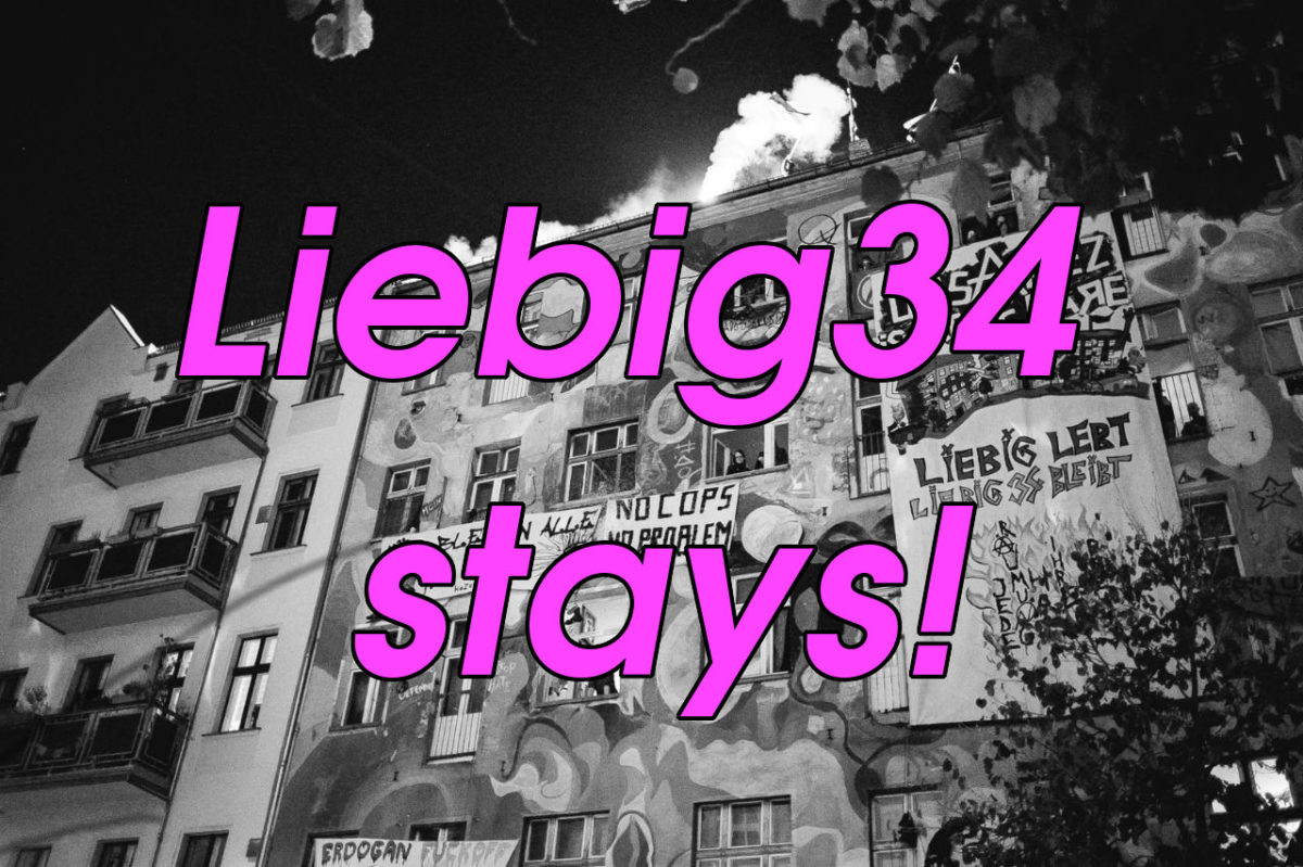 Interview with Liebig34 squat in Berlin as it resists eviction