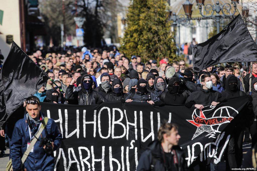 Interview with anarchist in Minsk about the Belarus protests