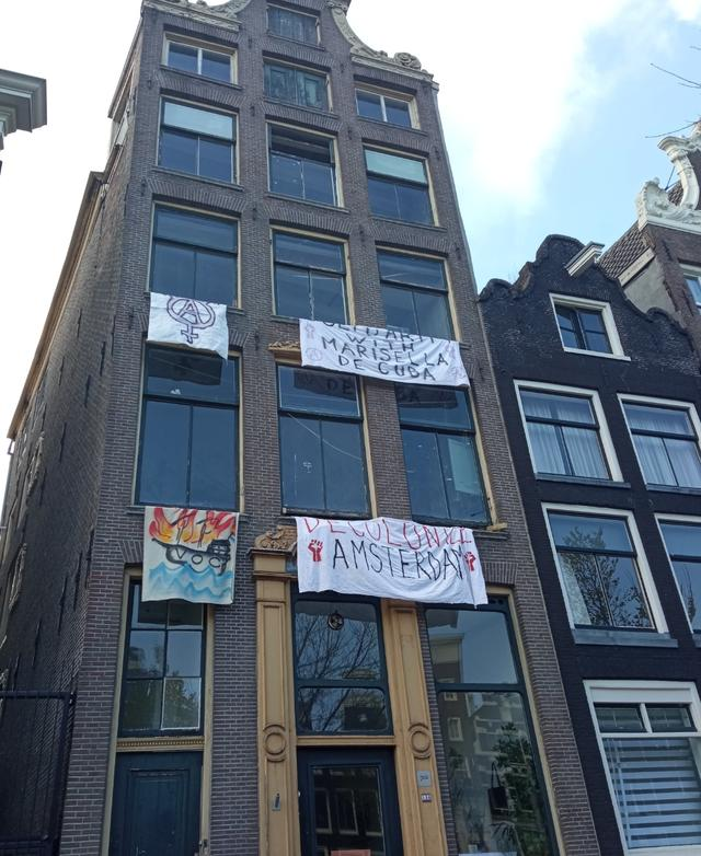 Anti-Colonial Squat in Amsterdam Brutally Evicted. Activist Almost Murdered by Riot Police