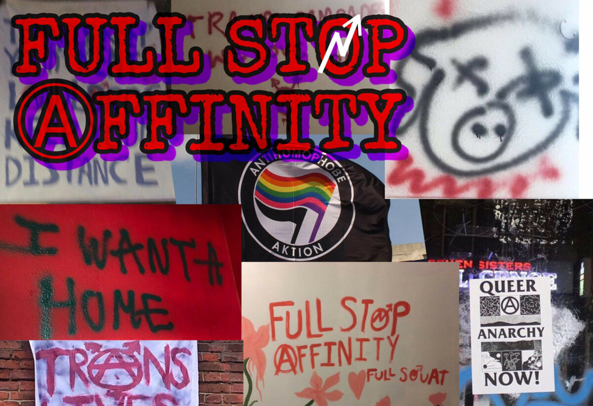 Full Stop Affinity's Final Statement